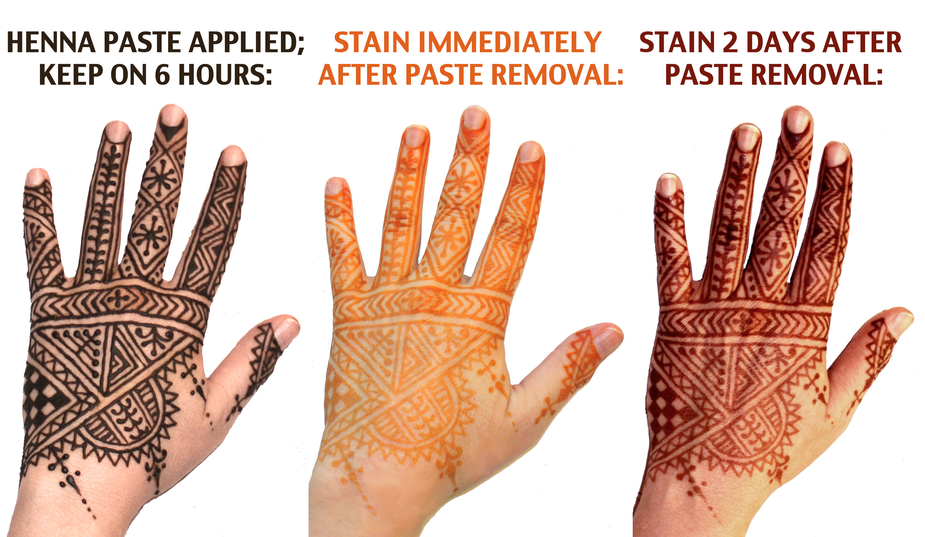 About henna old new world henna for Do airbrush tattoos come off in water